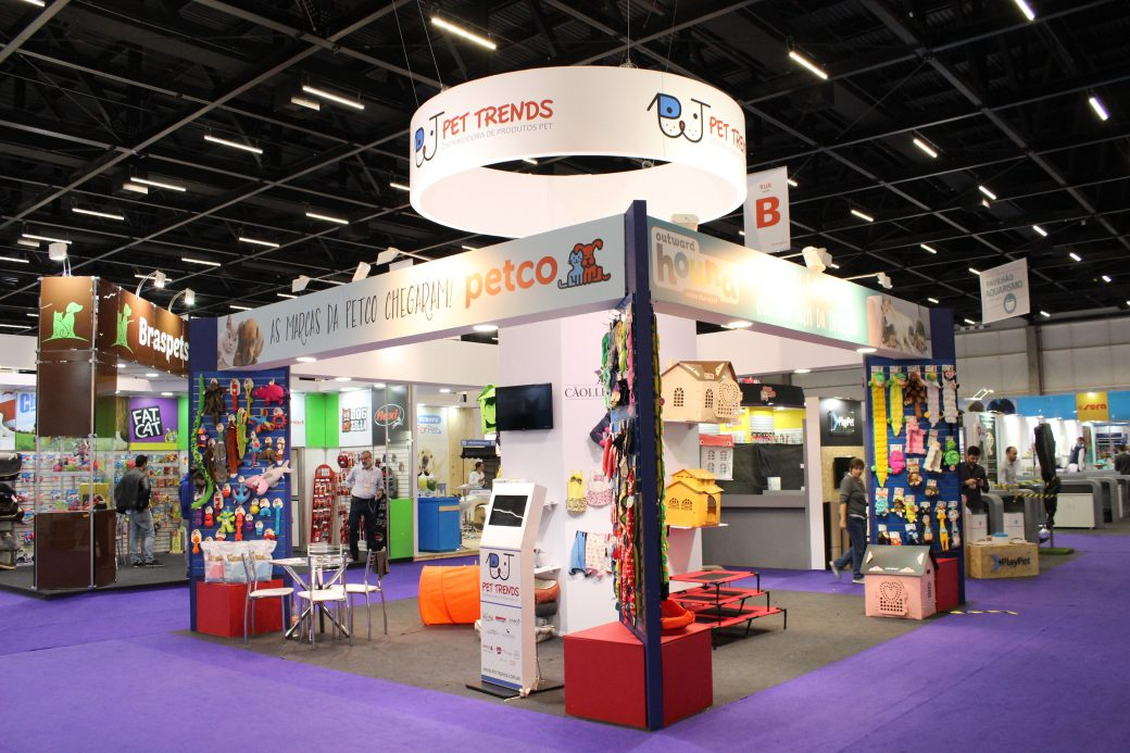 Stand Pet Trends na Pet South America 2017