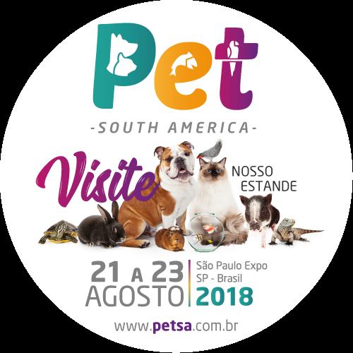 Visite nosso estande na Pet SA 2018!